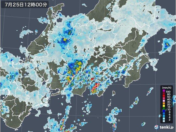 雨が降ったりやんだり