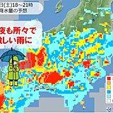 関東甲信 土曜夜~日曜も局地的に激しい雨 梅雨明けは来週もおあずけ?