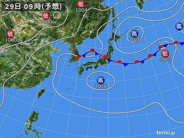 九州~近畿 28日(火)以降 梅雨明けの可能性あり