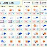 週間 西日本は順次「梅雨明け」へ 熱中症にいっそう警戒を