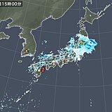 西日本に雷雲発生 土砂降りの雨も 天気の急変に注意