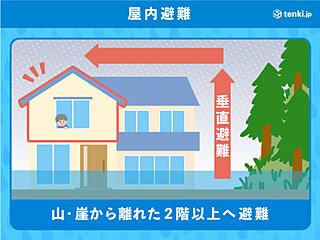 山形県最上川周辺の地域 直ちに身の安全確保を!