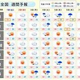 週間天気 長い梅雨に終止符か 関東甲信も待望の梅雨明けへ