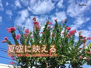 2日 全国的に厳しい暑さ 北海道も真夏日