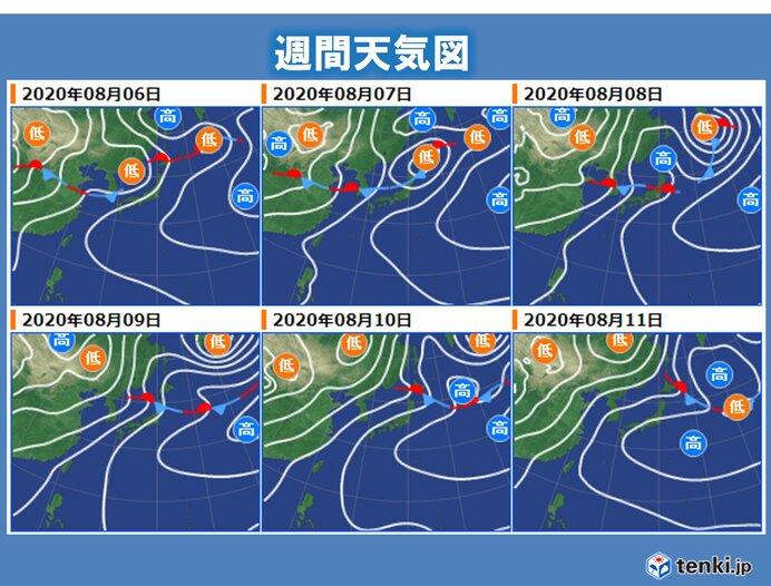 天気の傾向