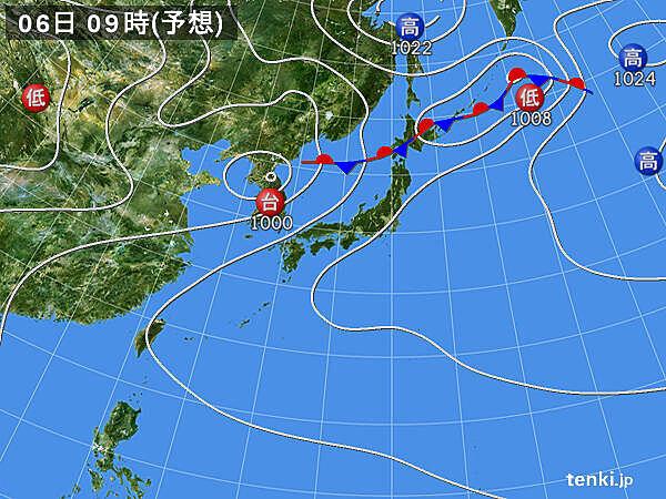 5日 東北から九州は空の急変に注意、北海道は局地的に激しい雨_画像