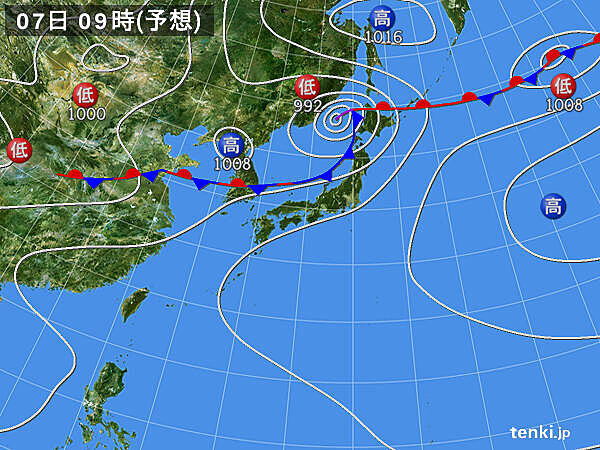 あす7日から東北日本海側で大雨の恐れ 被災地周辺も早めの備えを
