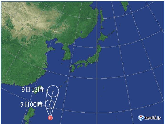 台風5号発生へ