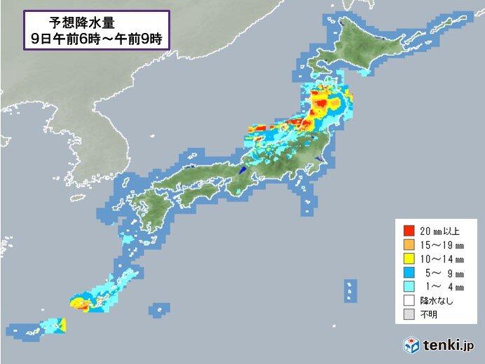 あす 沖縄は荒れた天気 東北は前線停滞で大雨に