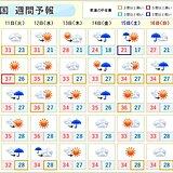 週間 台風5号 あす低気圧に変わっても警戒 厳暑続く 夜も熱中症に注意