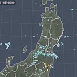 東北や北陸、関東 局地的に雨雲が発達 激しい雨に注意