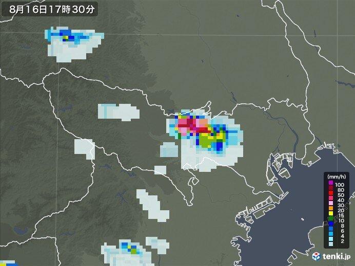 東京に「竜巻注意情報」発表 カミナリ雲が発達 激しい雷雨に注意