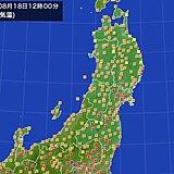 東北も猛暑戻る 熱中症まだまだ警戒