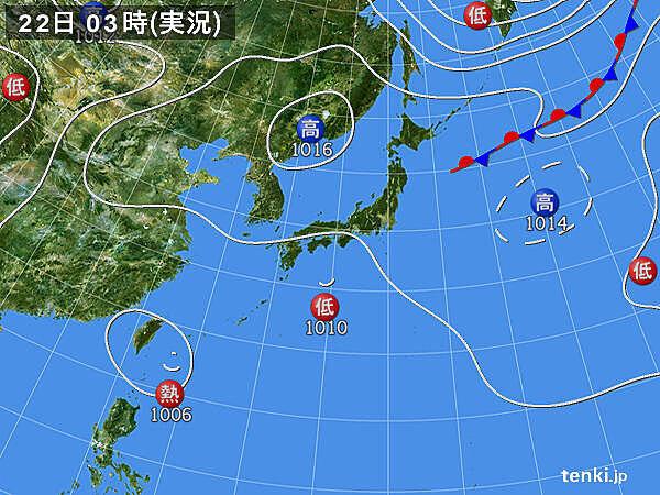 沖縄は強風・高波に注意 熱帯低気圧が次第に台風へ発達