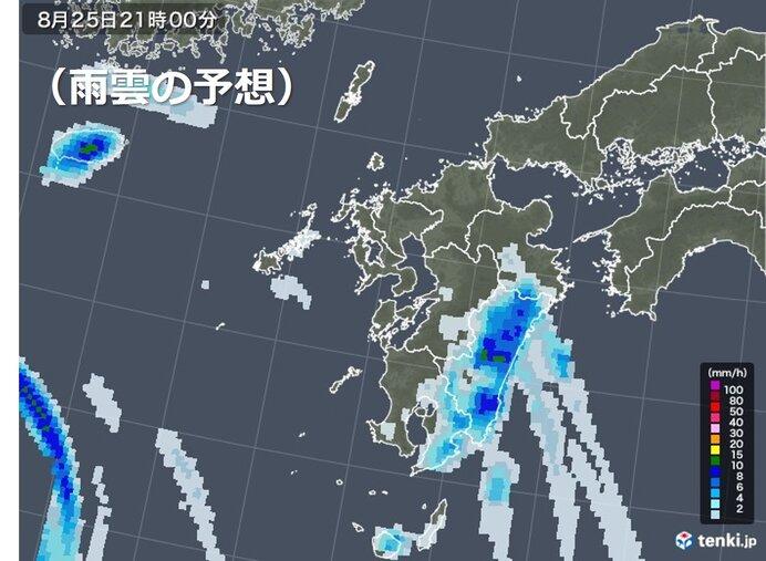 九州の太平洋側は大雨のおそれも