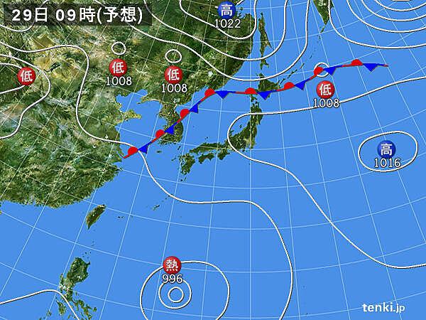 またも台風のたまご