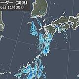 沖縄・西日本で激しい雨 関東も今夜は雨に注意