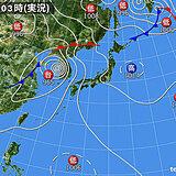 27日 依然として厳しい残暑 台風の影響続き 局地的に激しい雨も