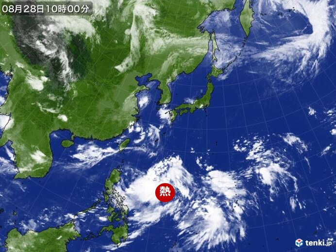 来週は新たな台風北上