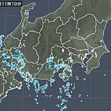 関東・東海・近畿などに活発な雨雲 猛烈な雨も 天気急変に注意