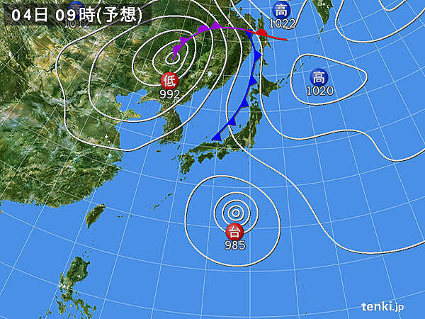 新たな台風発生へ 週末にかけて動向に警戒