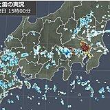 都心にもカミナリ雲 関東は帰宅時間帯も急な雨に注意