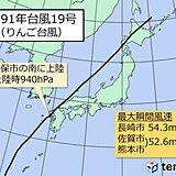 九州 過去の災害を知り、台風への備えを[暴風:1991年台風19号]