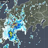 愛知県に活発な雷雲 名古屋で非常に激しい雨を観測 夜にかけて注意