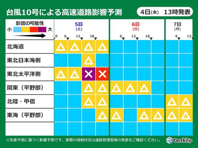 【北海道~東海・北陸】 各地で短時間強雨に注意