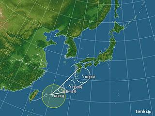 台風6号 最接近の沖縄で土砂災害の危険性