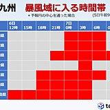 九州 台風10号非常に強い勢力で接近 甚大な災害発生に備えて