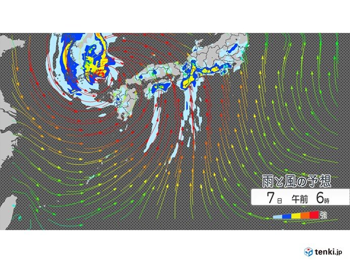 記録的な大雨 東海などでも警報級の大雨 長く続く恐れも