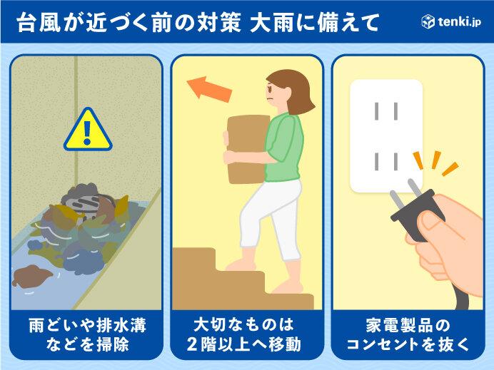 台風10号 既に9月一か月相当の大雨も 災害に厳重警戒_画像