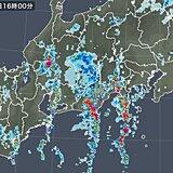 今夜も東海や関東で滝のような雨に警戒 あす9月とは思えない「酷暑」