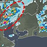 東海地方 線状降水帯発生のおそれ