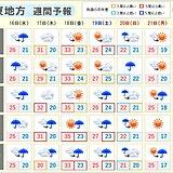 関東地方 季節は一進一退 厳しい暑さが戻る日も