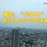 21日朝 東京2か月ぶり20℃未満 西日本中心に10℃以下 秋色深まる