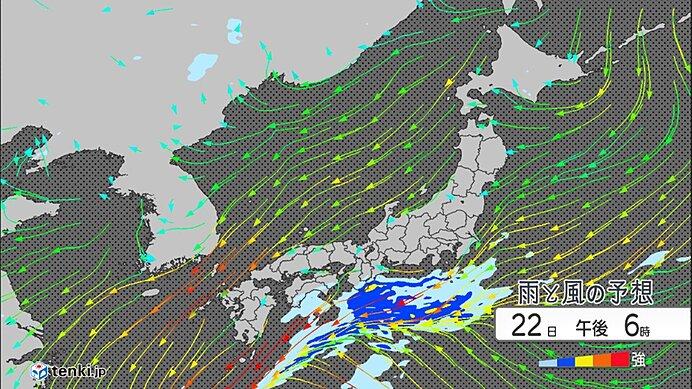 連休明けは九州から関東で大雨か 台風12号の動きに注意