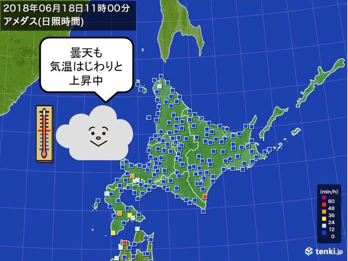 北海道 ようやく低温は解消へ
