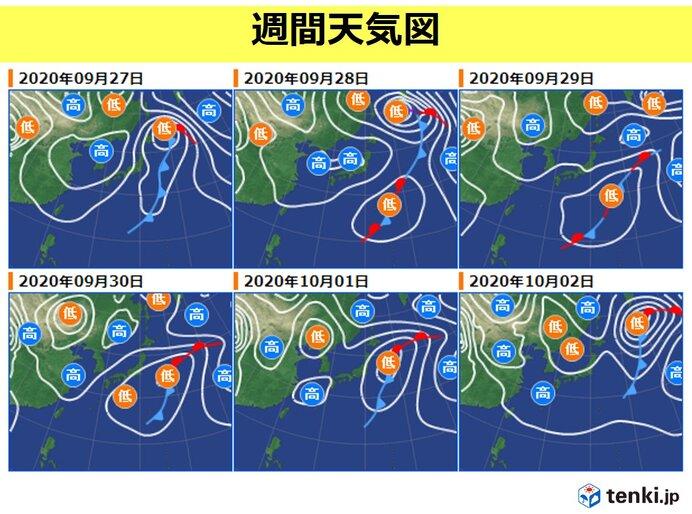 27日日曜 北海道は まだ大雨・暴風・高波