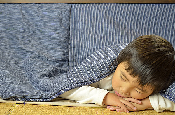 すさまじい包容力……、けれど、体や美容にはとても悪い! いま一度、こたつ寝にご注意を!