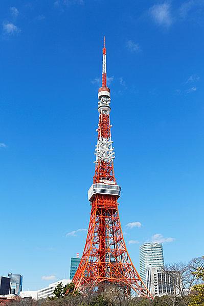 東京タワーと青い空