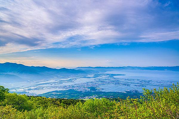天鏡湖(てんきょうこ)とも呼ばれる、猪苗代湖(福島県)