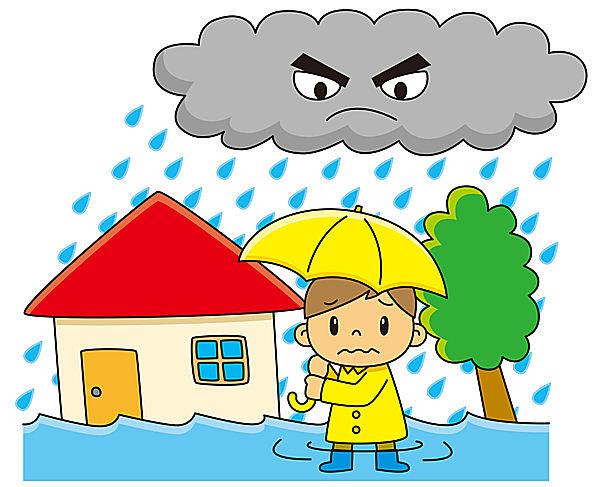 6月は浸水対策強化月間!  豪雨時の浸水に備えよう