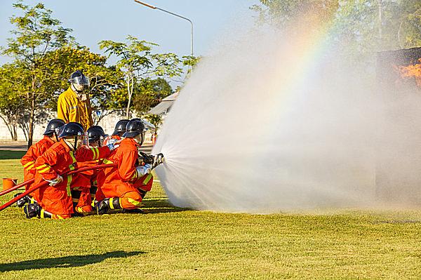 スタートは消防団員の体力作りのため