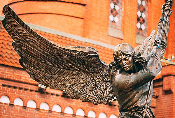 天使の中でも抜群の存在感