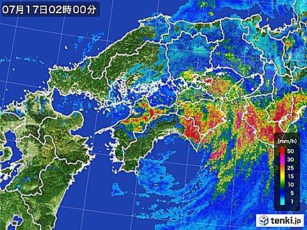 6位 台風第11号 近畿地方で記録的な雨