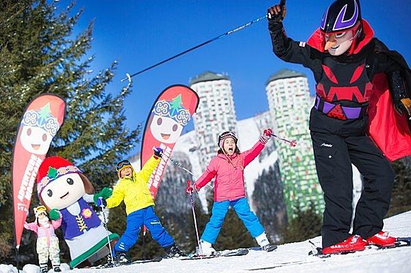 「アドベンチャーマウンテン」は子供の冒険心をあおるアトラクション @星野リゾート トマム(北海道)