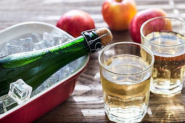 リンゴの発泡酒「シードル」