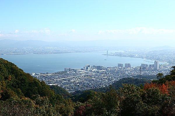 夢見が丘から見た景色